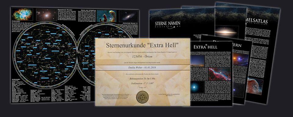Extra hellen Stern Package